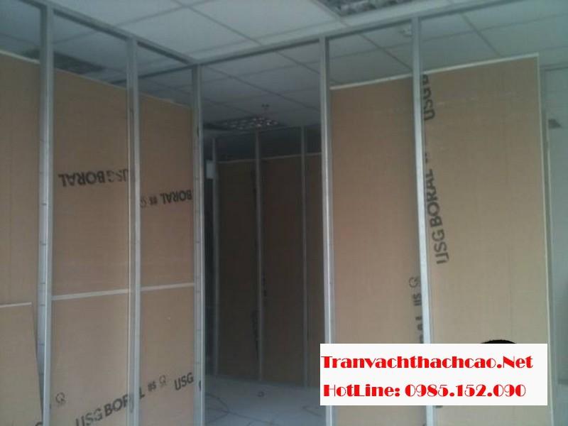 Thi công vách thạch cao tại Hà Nội giá rẻ, chất lượng tốt