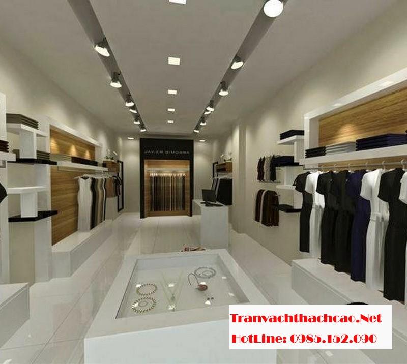 Vì sao nên sử dụng vách thạch cao trong các shop thời trang?