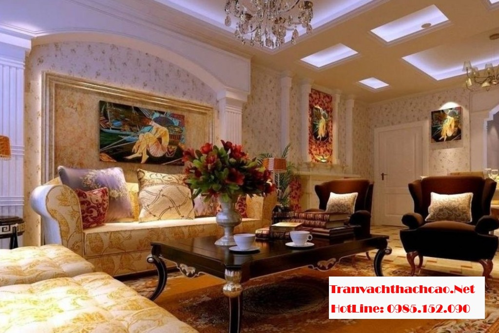 Plaster-ceilings-3D-design-for-neo-classical-living-room