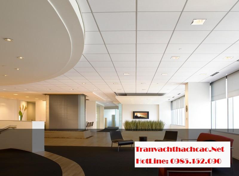 Kỹ thuật thi công trần thạch cao nổi cho không gian văn phòng đẹp nhất 01