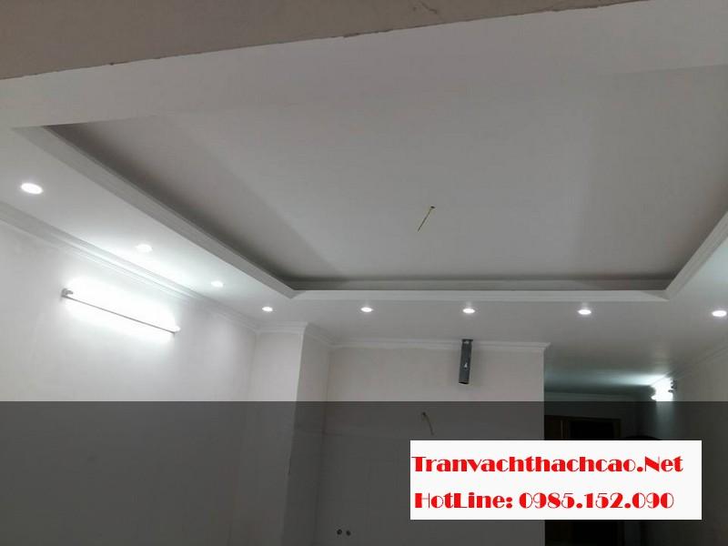 Thi công trần thạch cao tại chung cư Elip Tower, Hà Đông, Hà Nội