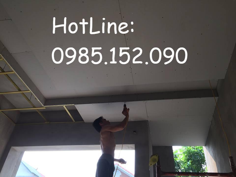 Thợ làm trần và vách thạch cao giá rẻ ở Hà Nội