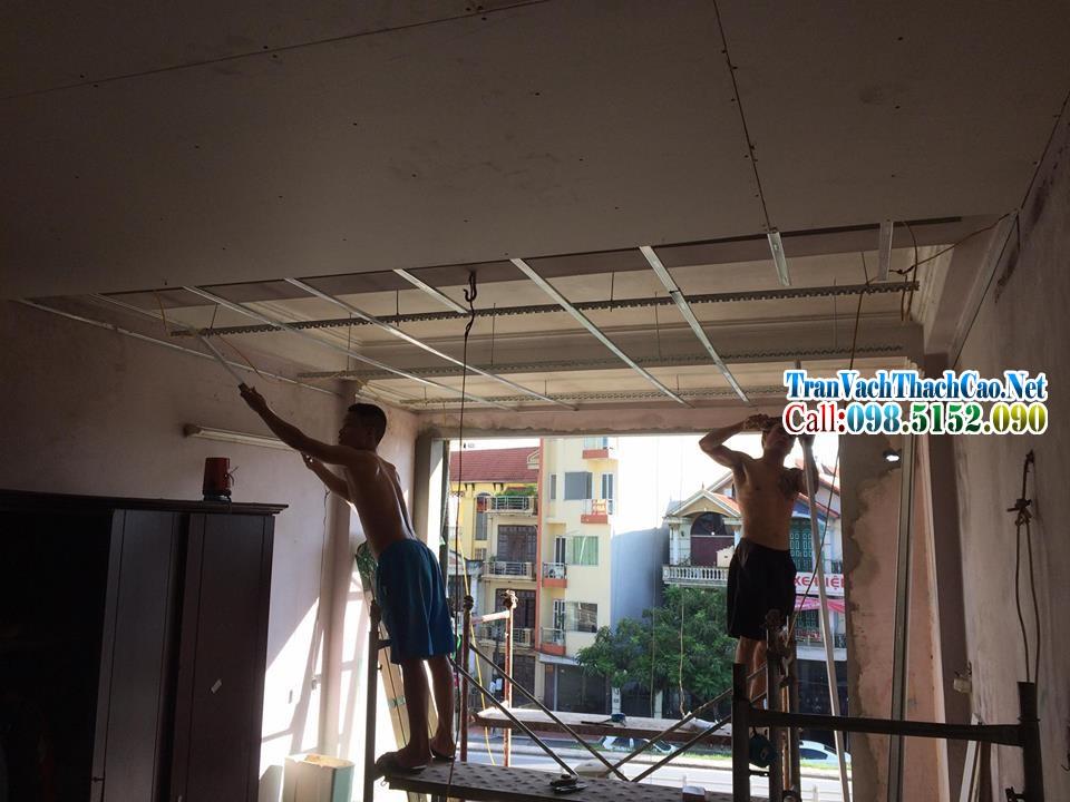 thợ sửa trần thạch cao Hà Nội